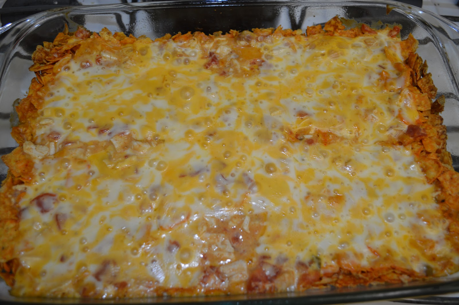 Day 2: Mexican Dorito Casserole - The Samantha Show- A ...