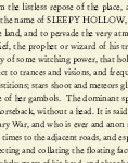 Sleepy Hollow Text Cardstock