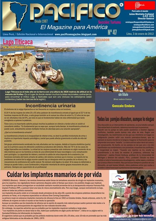 Revista Pacífico Nº 47 Turismo