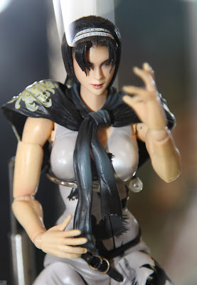 Square Enix Play Arts 2013 Toy Fair Display - Tekken Jun figure