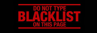 Do not type Blacklist on AXN's Page