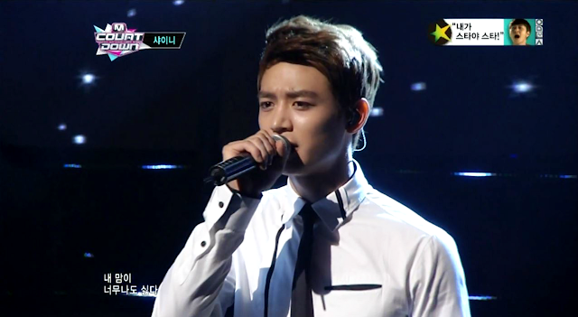 shinee minho m! countdown sleepless night
