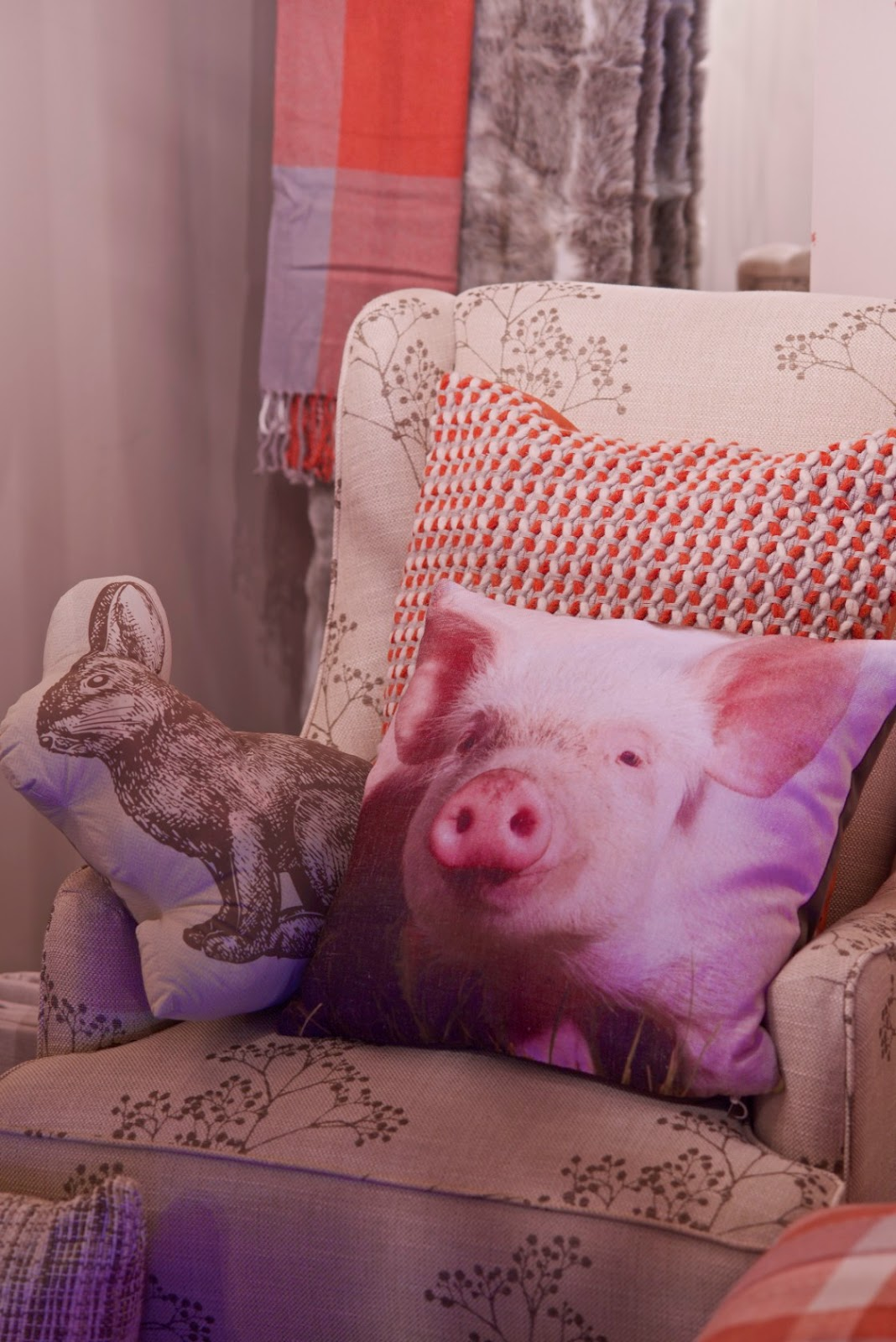 piglet cushion from next for aw14