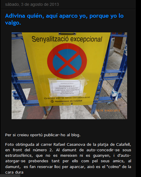 http://segurdecalafell.blogspot.com.es/2013/08/adivina-quien-aqui-aparco-yo-porque-yo.html