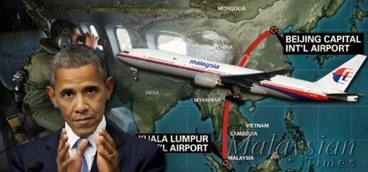 MH370, Obama, Najib Razak