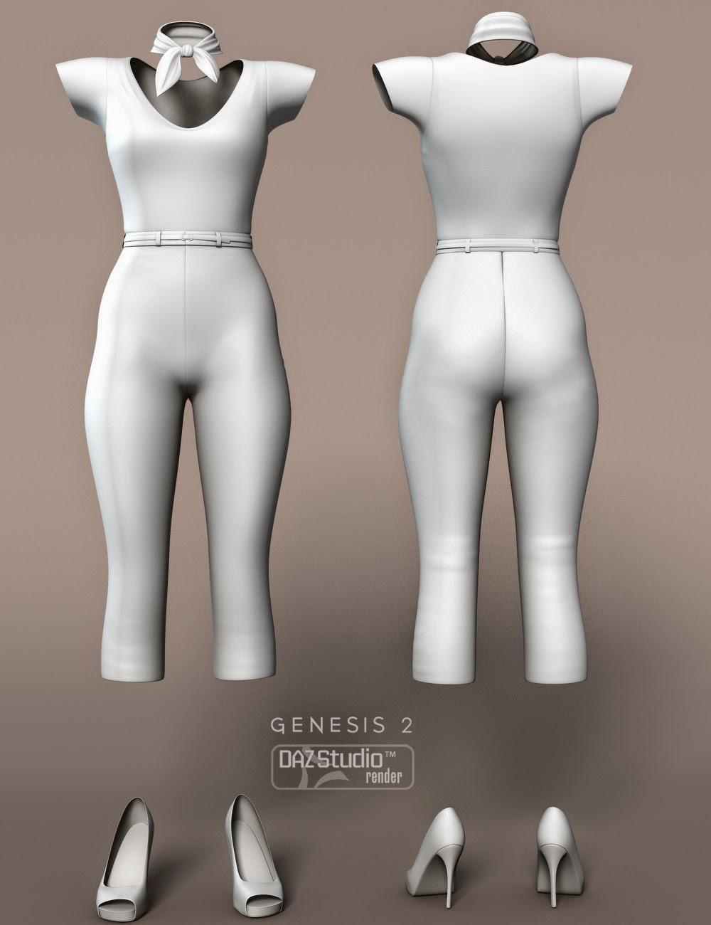 Dulcet Outfit pour Genesis 2 Femme