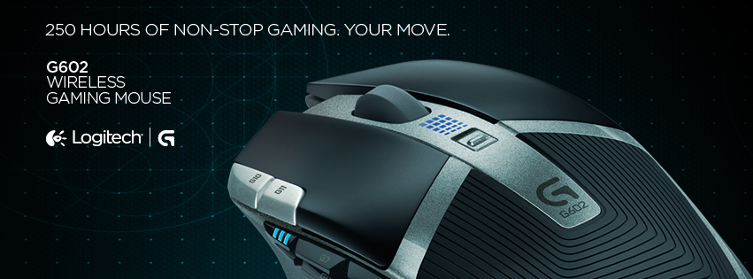 TCHW Reviews: Unboxing & Review: Logitech G602 Wireless Gaming Mouse
