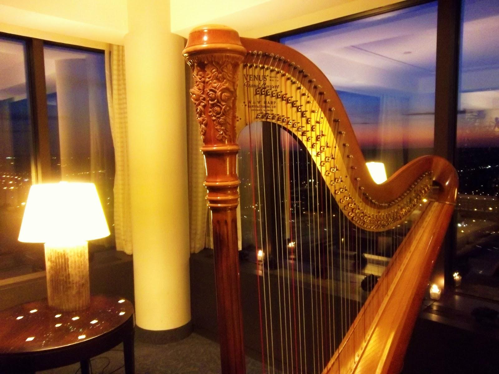 Grand Rapids Harpist Wedding Reception At The Amway Grand Plaza