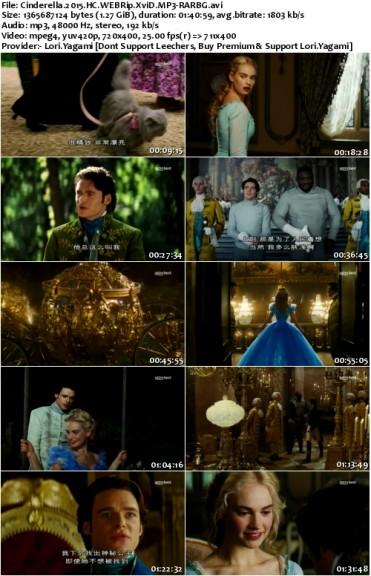 Cinderella 2015 HC WEBRip XviD MP3-RARBG