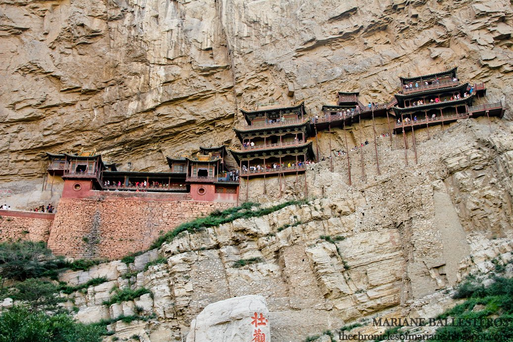 china hanging temple