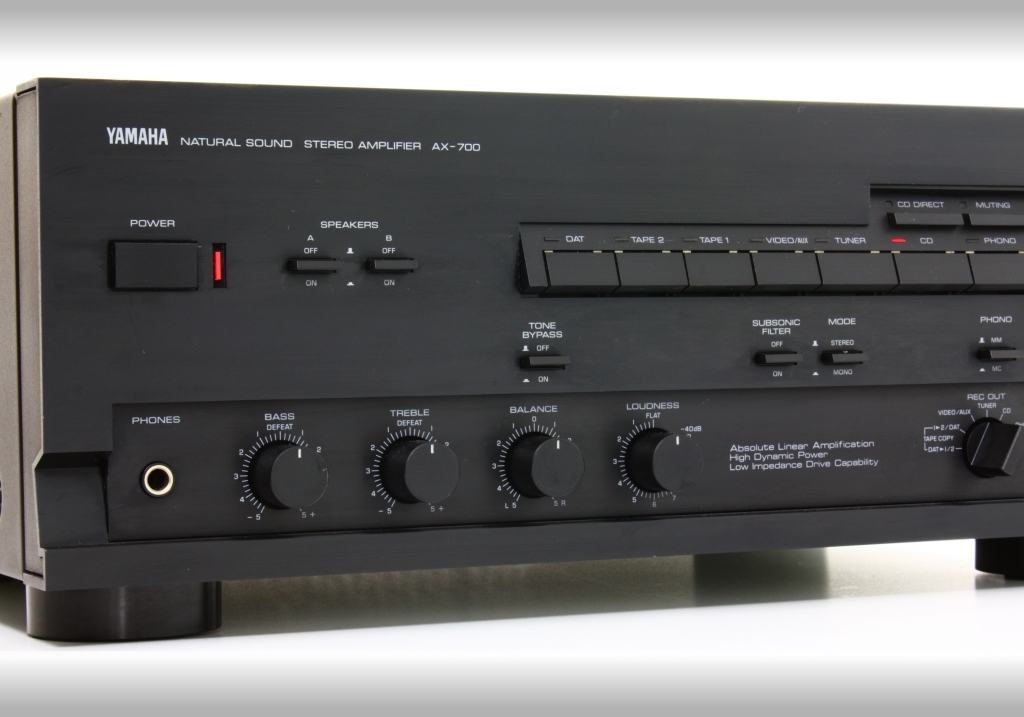 yamaha a 700 integrated amplifier audiobaza