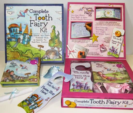 http://www.babytoothalbum.com/Gift-Collection/Tooth-Fairy-Kit.html