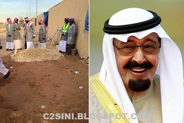 8 Gambar Makam Raja Abdullah yang mengejutkan insan terkaya dunia dan pemurah