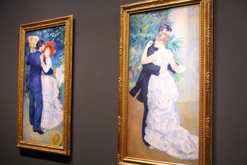 Renoir - Danse à la ville. Danse à la campagne