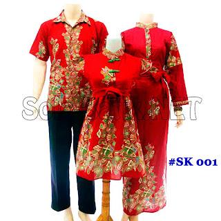 SK001 - Sarimbit Batik Keluarga Pasangan Solo 2013