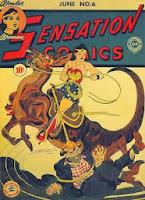 Sensation Comics #6 comic
