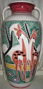 Elle Keramikk urne, h = 52cm
