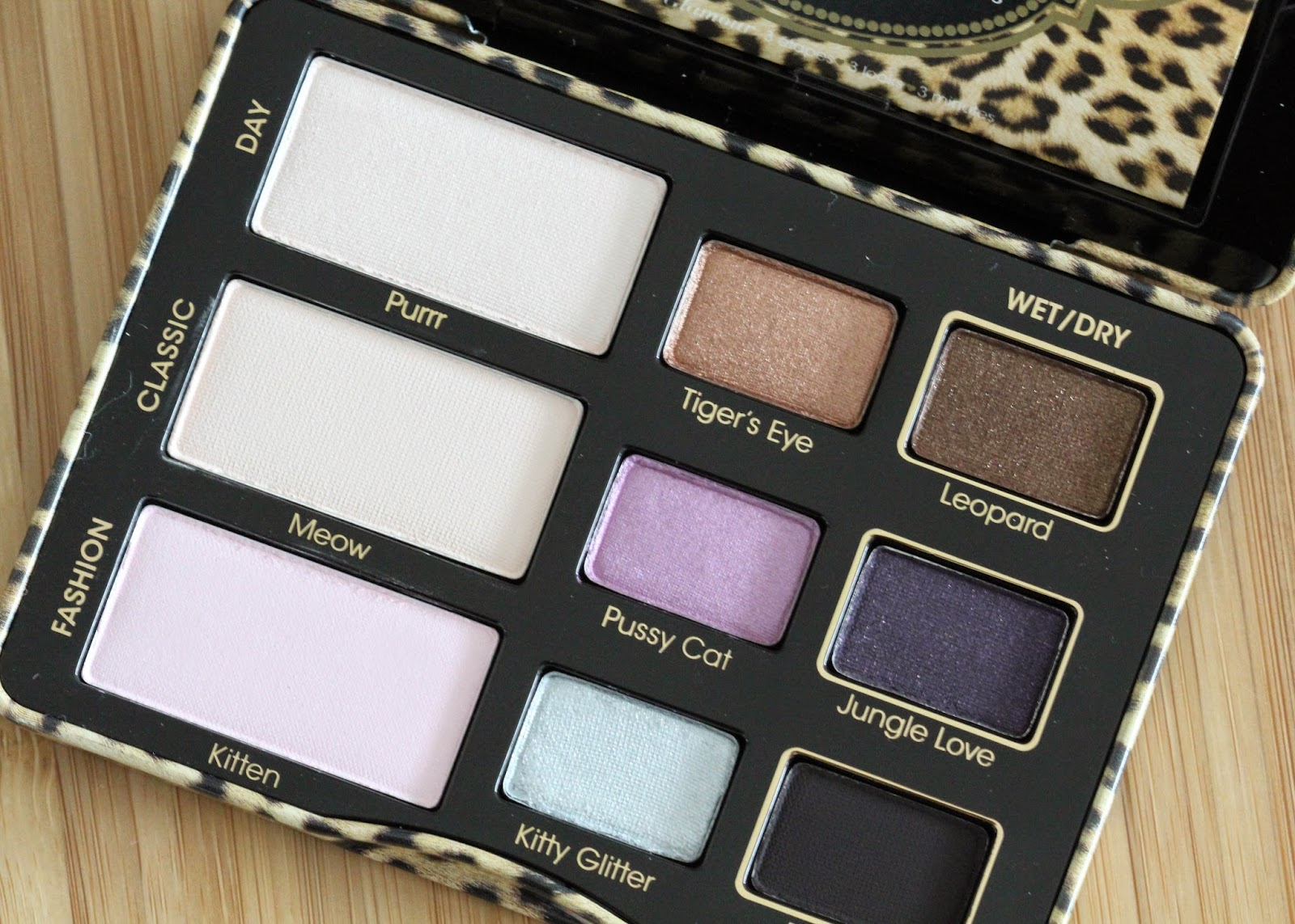 New from Too Faced: Cat Eyes Palette