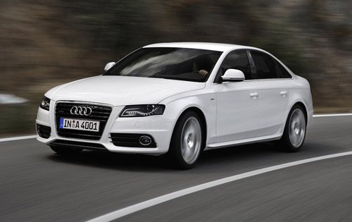 The A4 is available as a saloon/sedan and estate/wagon . The second ...