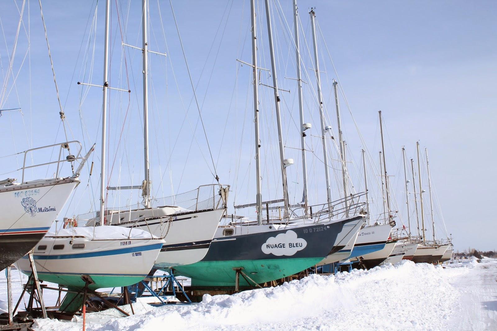 Marina Bonaventure Voiliers Sailboats