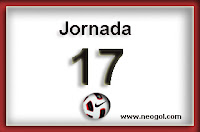 jornada 17 liga española