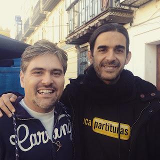 Encuentro diegosax Antonio Calvillo y Zoraida Pérez, son los principales organizadores del congreso.