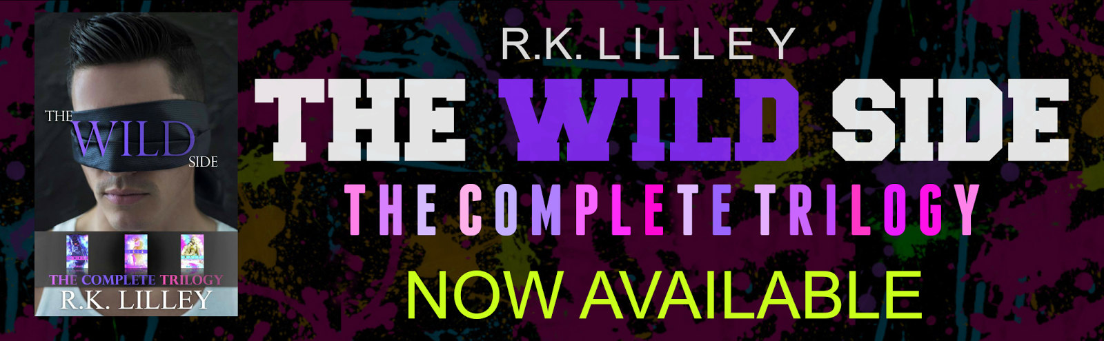 Promo Post ||Excerpt || Giveaway  The Wild Side by R.K. Lilley