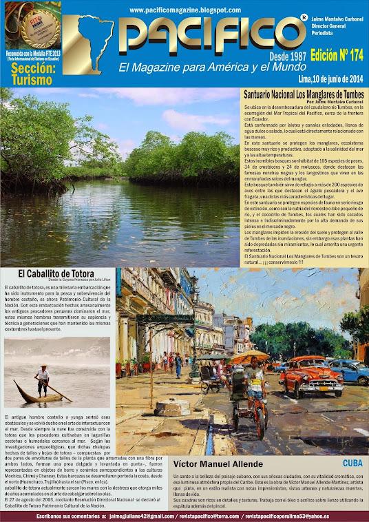 Revista Pacífico Nº 174 Turismo