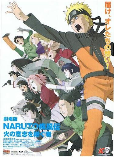 Naruto Shippuuden – Os Herdeiros da Vontade do Fogo – Legendado