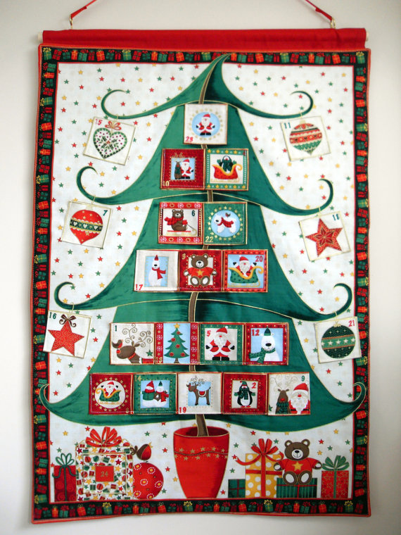 Advent Calendar Handmade : Xenia olivia christmas countdown my handmade advent calendar
