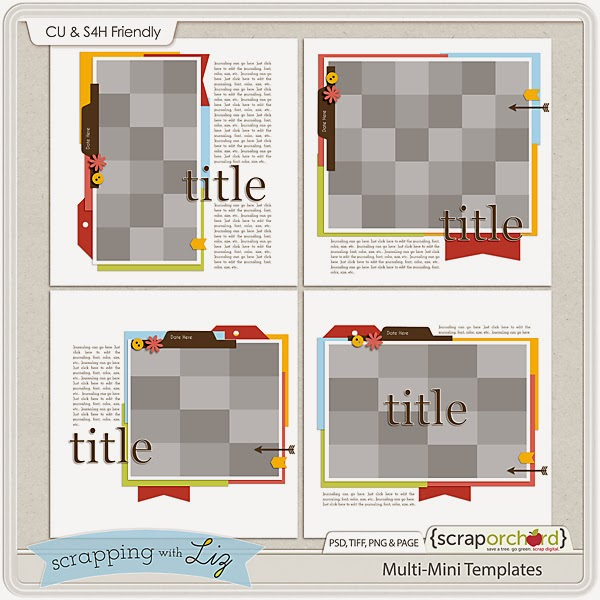 http://scraporchard.com/market/Multi-Mini-Digital-Scrapbook-Templates.html