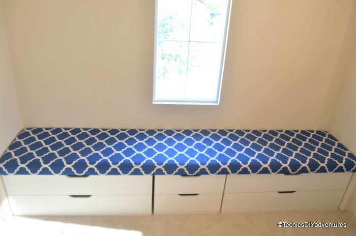 Ikea Stolmen Chest Hack Window Seat