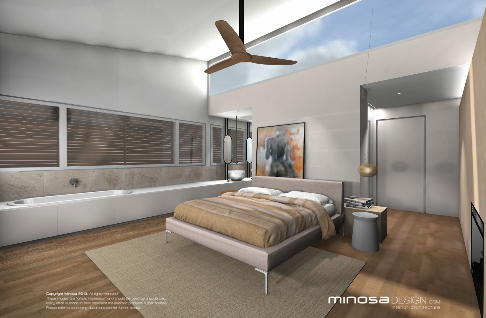 Minosa new minosa bathroom design resort style ensuite - Showers Are Becoming Larger And Large Enough For Two To Share The Water Is Coming From Two Sources One From The Ceiling Like Urban Rain And The Other From