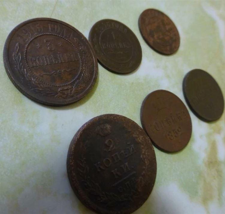 Поиск монет на металлоискатель