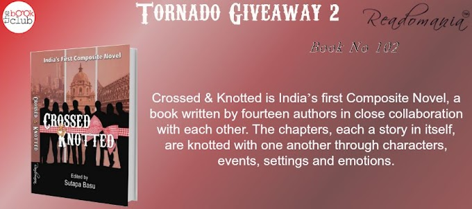Tornado Giveaway 2: Book No. 102: CROSSED & KNOTTED by Readomania