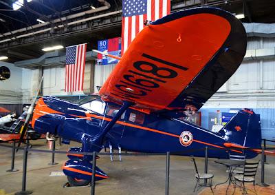 The Delta Heritage Museum, Hangar 1, Stinson Reliant SE