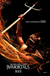 Kellan Lutz as Poseidon - Immortals Movie