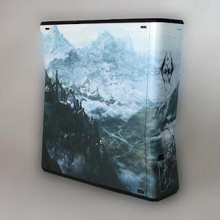 custom Skyrim XBox 360 console