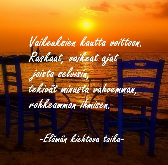 Kaunis runo elämästä