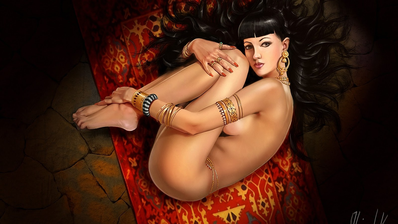 Naked women artwork and wallpapers sexy galleries