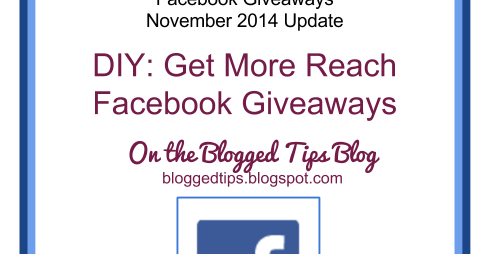 Facebook giveaways blogspot