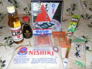 Kit sushi.