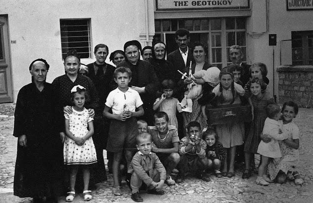 Βαφτίσια στην παλιά μητρόπολη