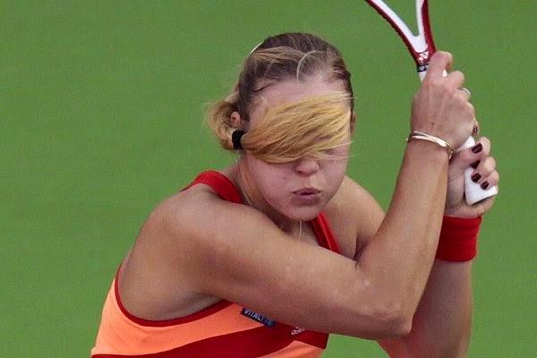 smešan teniski trenutak