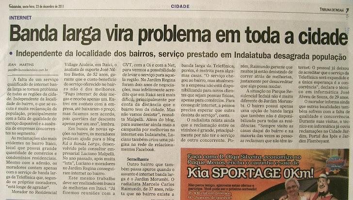 Jornal Tribuna de Indaia 23-12-11