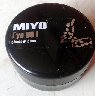 Top 10 kosmetyków... - #10 Miyo Eye Do! Baza pod cienie