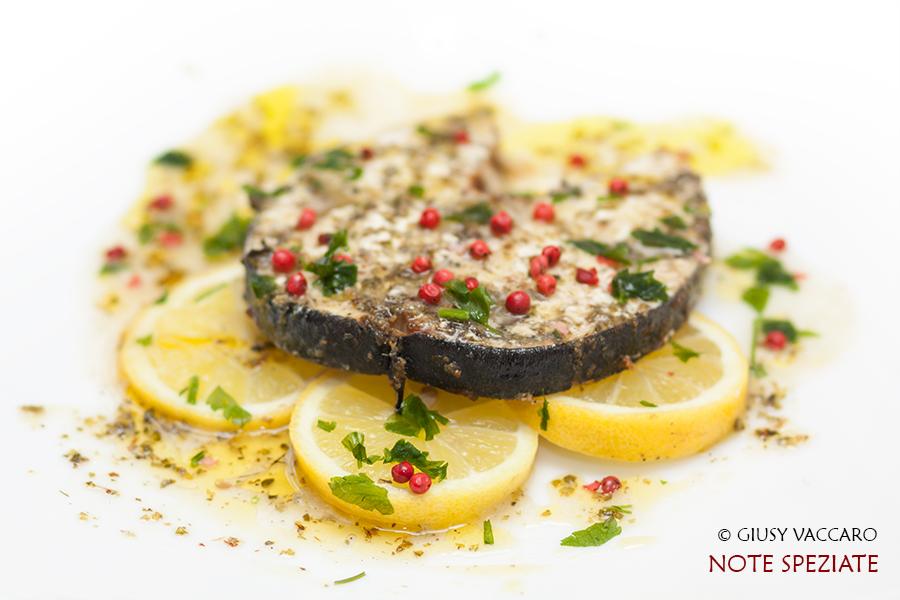 Pesce spada al forno con marinata al limone - Note Speziate