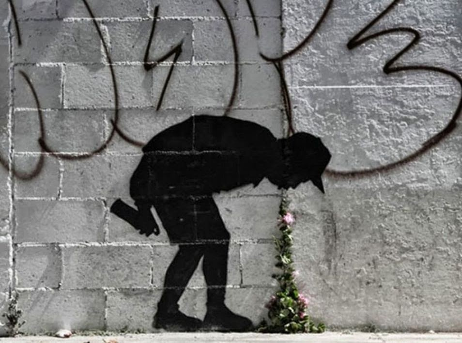 The Best Examples Of Street Art In 2012 And 2013 - Banksy Better Out Than In
