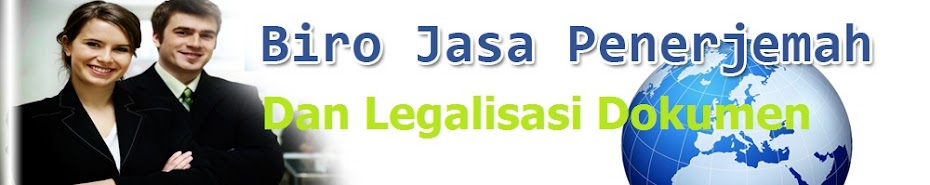 Jasa Legalisasi Dokumen ~ Legalisasi Dokumen