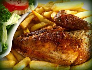 Pollo a la brasa tradicional